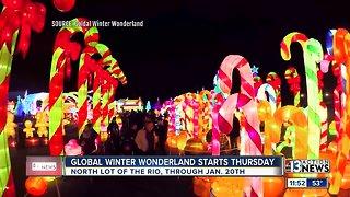 Global Winter Wonderland open through holiday season