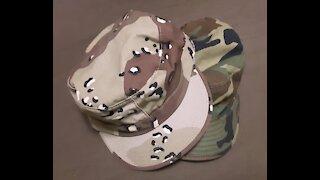 6 Color Desert Chocolate Chip Pattern BDU Patrol Cap Quick Look