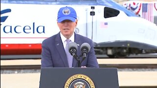 Biden Seems To Get Lost As He Struggles To Tell Amtrak Story