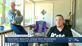 Renters' Rights: Lease not renewed