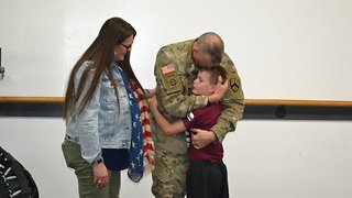 Soldier Returns After 10 Months Away To Shock Tearful Son At Taekwondo Lesson