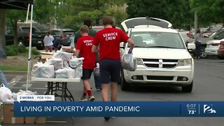 Living in poverty amid pandemic