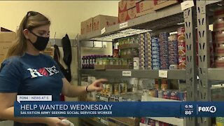 Help Wanted Wednesday: Salvation Army