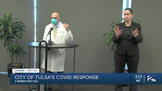 City of Tulsa's COVID-19 response