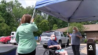Ohio nursing home residents see first visitors since COVID-19 pandemic began