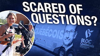 "Bloc Québécois leader REFUSES to answer ""reasonable question"""