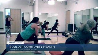 Boulder Community Health: Home workouts