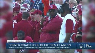 Former coach John Blake dies at age 59