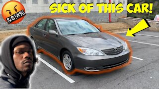 I'M HAVING A HARD TIME SELLING THIS TOYOTA CAMRY I BOUGHT FROM AUCTION! *MAKING SOME ADJUSTMENTS*