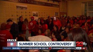 Summer school controversy at Bakersfield City School District