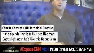 CNN Director REVEALS CNN Coverage of Matt Gaetz Is Propaganda