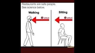 People Wearing Masks in Restaurants Bug Me