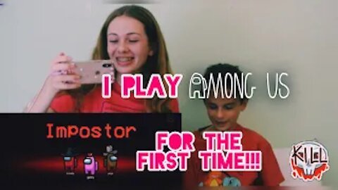 I Play Among Us for the first time!!! | Gabby's Gallery