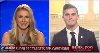 The Real Story - OAN Infrastructure Boondoggle with Rep. Madison Cawthorn