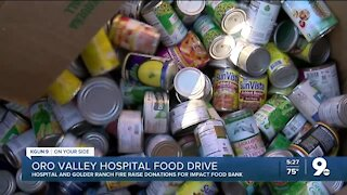 Oro Valley hospital, Golder Ranch Fire raise donations for local nonprofit