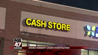 UPDATE: Police looking for 3 suspects in armed robbery of cash store