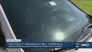 No Fault insurance bill changes proposed