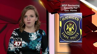 Police review security after theft outside governor's home