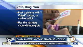Company offers 'vote and brag' contest