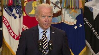 President Biden addresses withdrawal of U.S. troops from Afghanistan