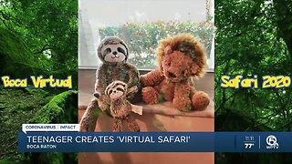 Boca Raton teen creates 'virtual safari'