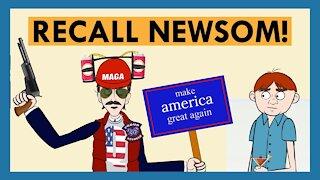 Gavin Newsom Goes Undercover With The Recall Gavin Newsom Campaign