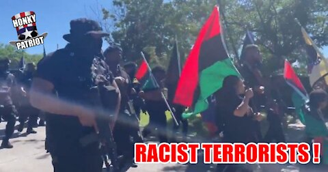BLACK PANTHERS HOLD ARMED REPARATIONS MARCH-THREATEN TO KILL EVERYTHING WHITE IN SIGHT !