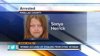 Largo woman accused of stealing $2,500 from Vietnam veteran