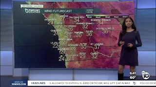 ABC 10News Pinpoint Weather for Sat. Apr. 17, 2021