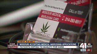 Missouri reviews more than 500 medical marijuana card applications