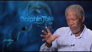 Steven Samblis' Interviews For The Movie Dolphin Tale, Featuring Morgan Freeman.