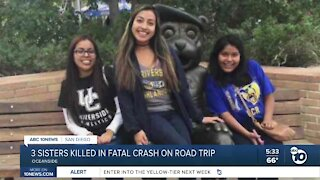 Three Oceanside sisters killed in road-trip car crash in Idaho