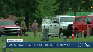 Mass graves search picks back up this week