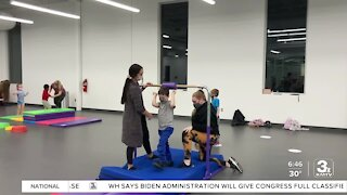 Special needs kids are finding ways to adapt during COVID with adaptive tumbling