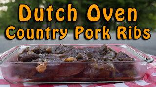Dutch Oven Country Pork Ribs
