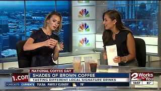 Celebrating National Coffee Day with 2 Works for You