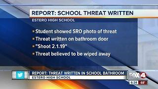Estero school threat