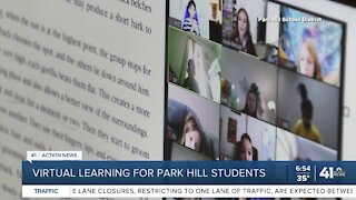 Virtual learning for Park Hill students