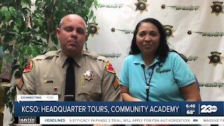 KCSO holding public tours of headquarters, community academy