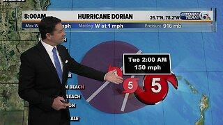 8 a.m. Dorian updated