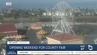 Del Mar fair now open