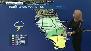 Weekend rain and storms move in tonight