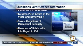 Allegations of misconduct against La Mesa Police