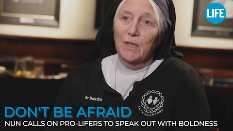 'Don't be afraid': Sr. Deidre Byrne calls on pro-lifers to speak out with boldness