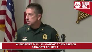 Sarasota County Sheriff's Office on statewide data breach