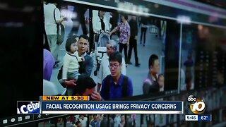 Facial recognition usage brings privacy concerns