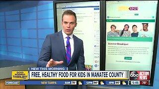 Summer BreakSpot offers kids free meals during summer