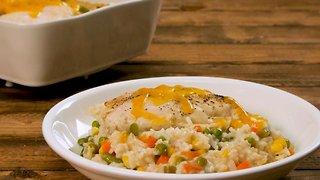 Success® Cheesy Chicken and Rice Casserole