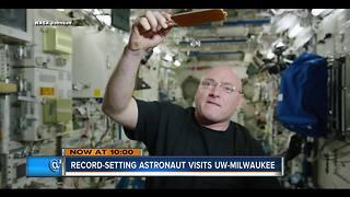 Astronaut Scott Kelly inspiring next generation in Milwaukee