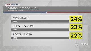 Sanibel Election results
